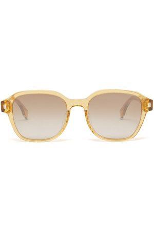 Fendi Men Square - Square Acetate Sunglasses - Mens