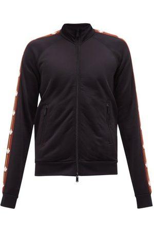 Dsquared2 Leaf-logo Jersey Track Jacket - Mens