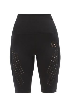 adidas Women Sports Shorts - Truepurpose High-rise Primegreen Jersey Shorts - Womens