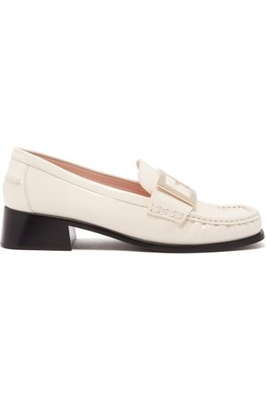 Roger Vivier Women Loafers - Preppy Viv Patent-leather Loafers - Womens