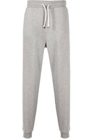 Brunello Cucinelli Men Sweatpants - Drawstring track pants - Grey