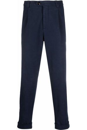 Brunello Cucinelli Men Formal Pants - Cropped tailored trousers