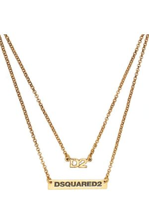 Dsquared2 Men Necklaces - Layered logo necklace