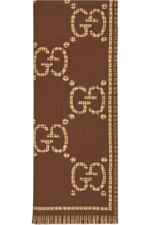 Gucci Men Scarves - GG jacquard scarf