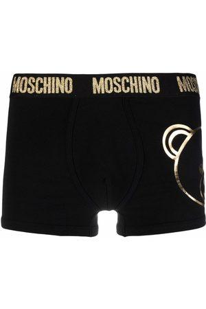 Moschino Men Boxer Shorts - Metallic Teddy print briefs