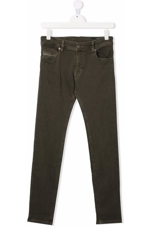 Diesel Stretch Pants - Sleenker stretch-cotton trousers