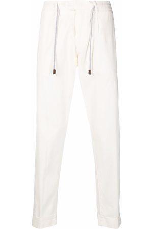 ELEVENTY Men Skinny Pants - Drawstring slim-fit trousers