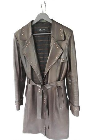 SAM RONE Leather coat