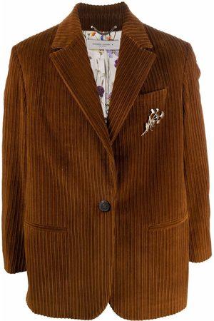 Golden Goose Men Blazers - Single-breasted corduroy blazer