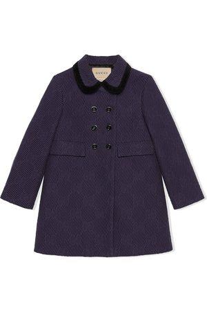 Gucci Girls Coats - GG wool coat