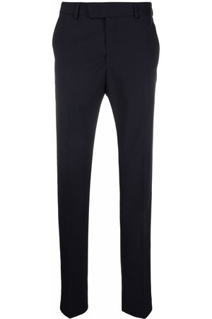 Karl Lagerfeld Men Formal Pants - Dart pressed-crease tailored trousers
