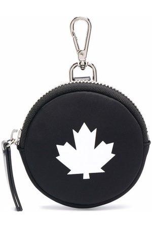 Dsquared2 Women Wallets - Logo-print leather pouch