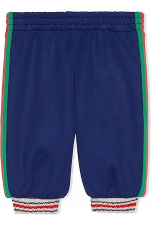 Gucci Baby Leggings - Stripe-trim leggings