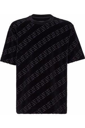 Fendi Men T-shirts - FF logo-print T-shirt