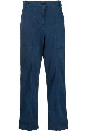 Aspesi Straight-leg cotton trousers