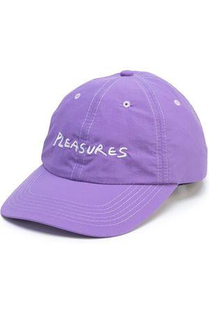Pleasures Men Caps - Hump logo-embroidered baseball cap - LAVENDER