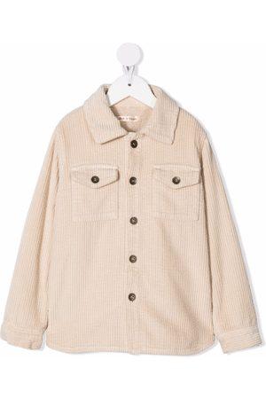 Zhoe & Tobiah Boys Long sleeves - Corduroy long-sleeve shirt - Neutrals