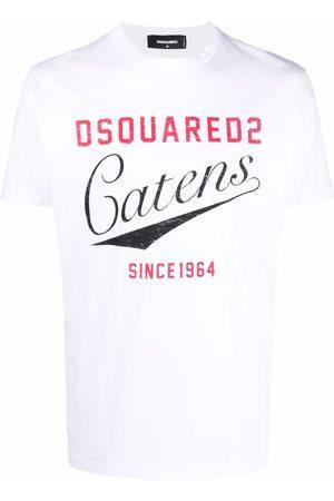 Dsquared2 Men Short Sleeve - Logo-print crew-neck short-sleeve T-shirt