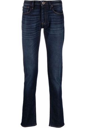 Emporio Armani Men Slim - Slim-cut denim jeans