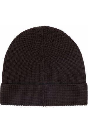TAGLIATORE Men Beanies - Ribbed-knit beanie