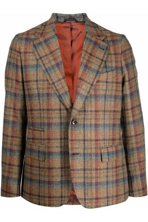 REVERES 1949 Men Blazers - Plaid-check print blazer