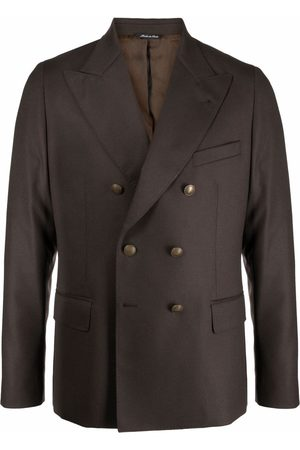 REVERES 1949 Men Blazers - Fitted double-breasted blazer
