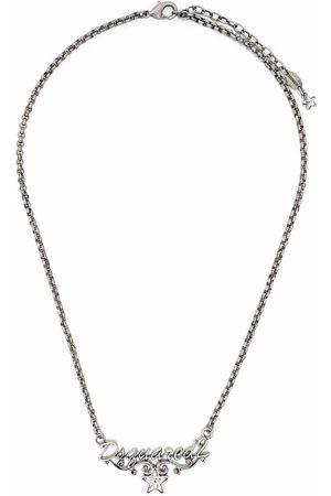 Dsquared2 Logo pendant necklace