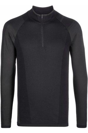 Y-3 Men Long Sleeve - Half-zip long-sleeve seamless top