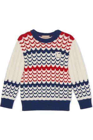 Gucci GG intarsia-knit wool jumper