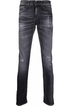 DONDUP Men Slim - Mid-rise slim fit jeans - Grey