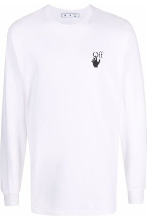 OFF-WHITE Men Long Sleeve - Caravaggio-print long-sleeve T-shirt