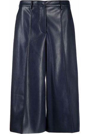 BLANCA Women Culottes - Faux leather culottes