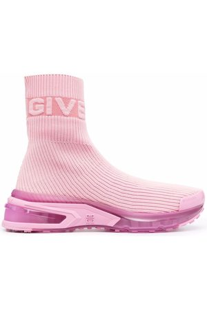 Givenchy Logo-knit sock sneakers