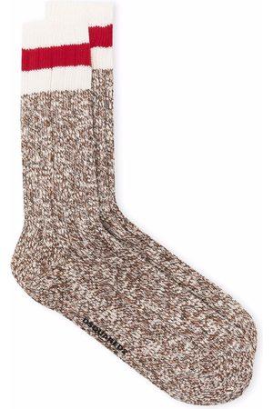 Dsquared2 Men Socks - Striped detail ankle socks