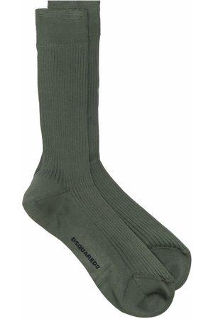 Dsquared2 Men Socks - Ribbed ankle socks