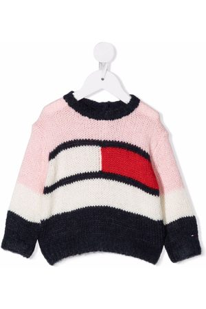 Tommy Hilfiger Sweaters - Flag colour-block jumper