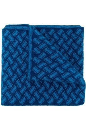 DRUMOHR Geometric-print cashmere scarf