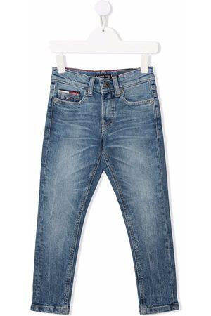 Tommy Hilfiger Boys Slim - Spencer slim tapered-leg jeans