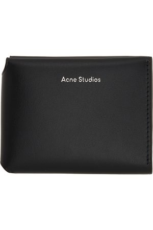 Acne Studios Men Wallets - Logo Trifold Wallet