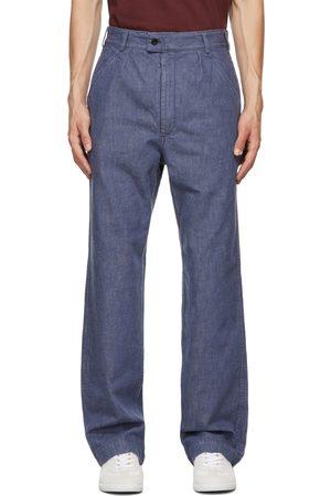 Maison Margiela Men Jeans - Blue Washed Jeans