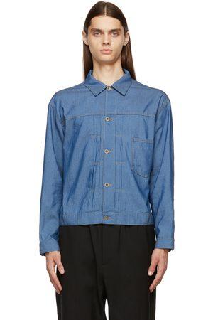 Maison Margiela Blue Denim Kaban Jacket
