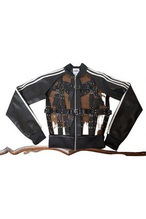 JEREMY SCOTT Leather biker jacket