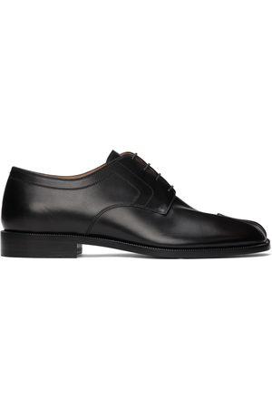 Maison Margiela Black Leather Tabi Derbys