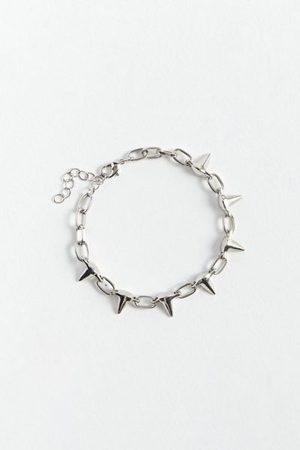 Urban Outfitters Men Bracelets - Spike Chain Bracelet