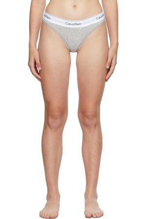 Calvin Klein Grey Modern Thong
