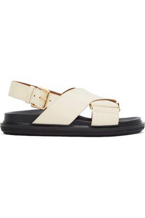 Marni Women Sandals - Off-White Fussbett Sandals
