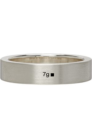 Le Gramme Brushed 'La 7 Grammes' Ribbon Ring
