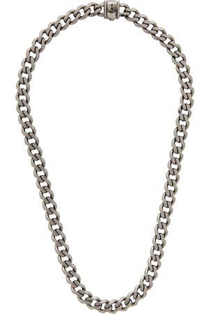 EMANUELE BICOCCHI Men Necklaces - Gunmetal Edge Chain Necklace