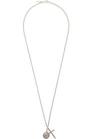 EMANUELE BICOCCHI Men Necklaces - Coin & Cross Necklace
