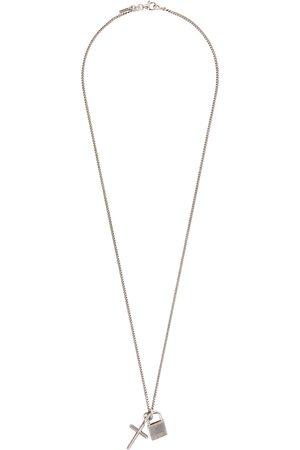 EMANUELE BICOCCHI Men Necklaces - Lock & Cross Necklace